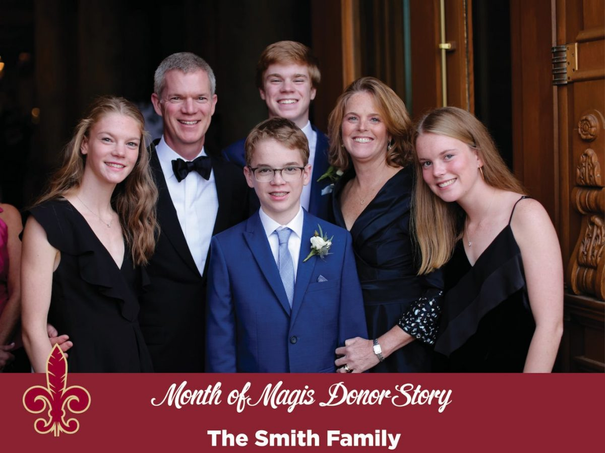 Month of Magis Donor Story - Smith Family