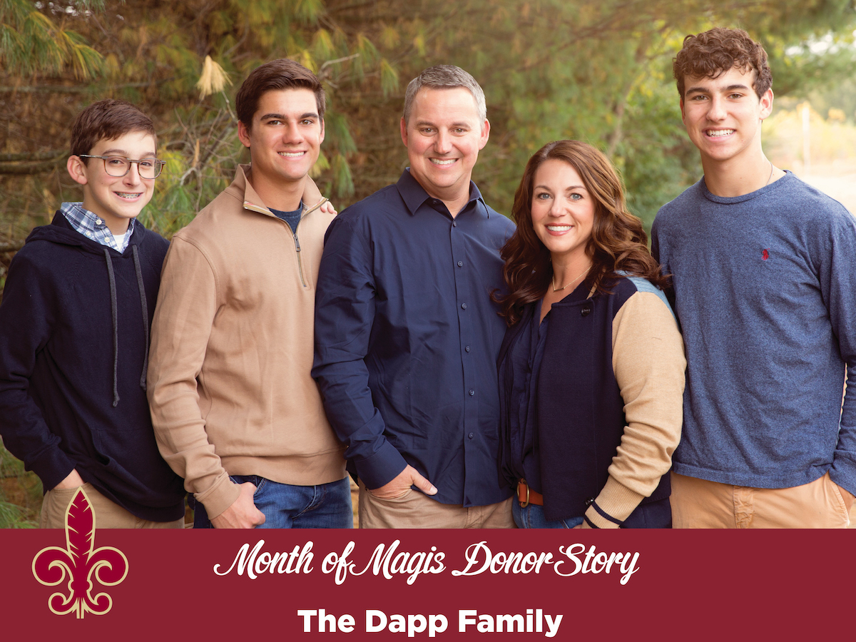 Month of Magis Donor Story - Dapp Family