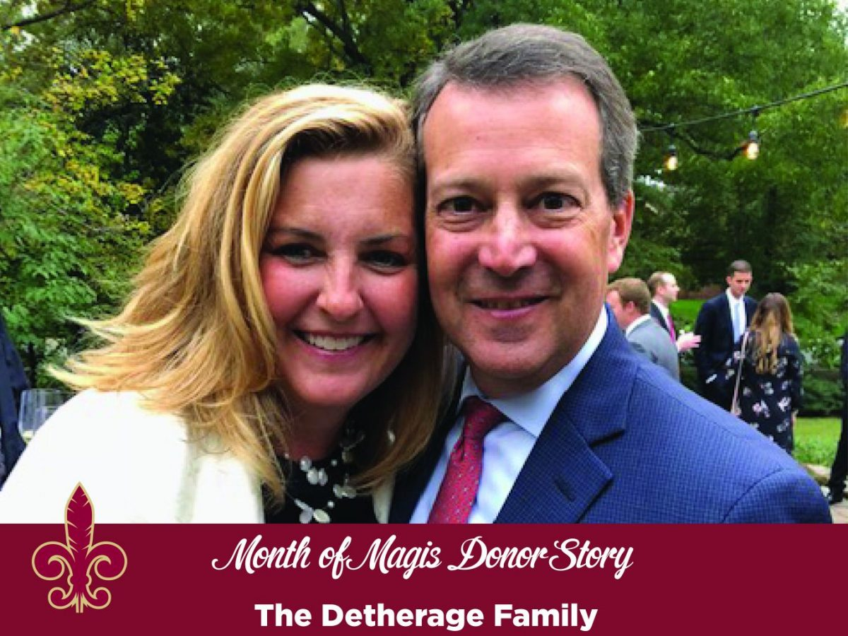 Month of Magis Donor Story - Detherage Family