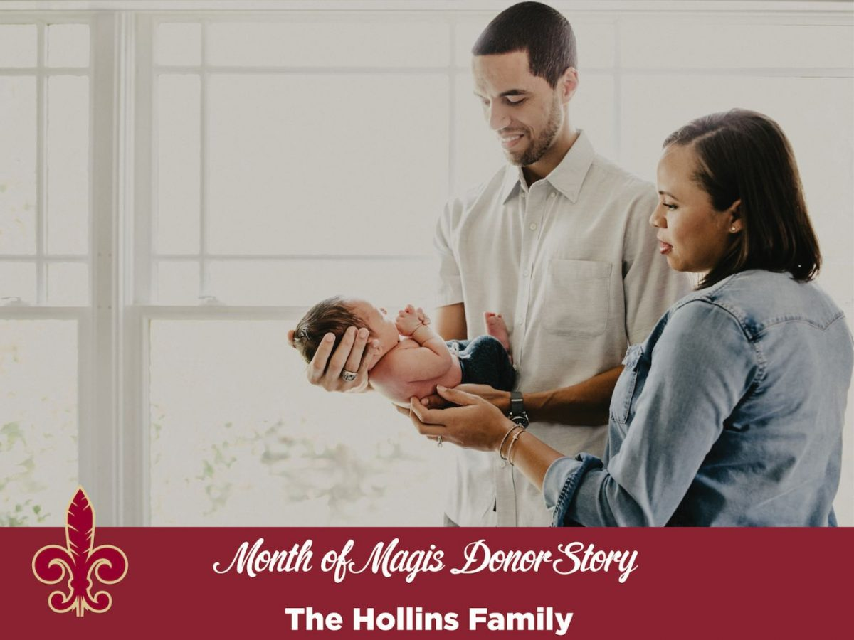 Month of Magis Donor Story – The Hollins Family